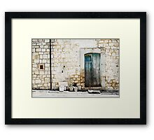 door 11 Framed Print