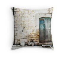 door 11 Throw Pillow