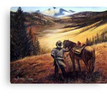 Wolfcreek Pass Canvas Print