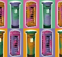 British Icons by Tony  Hardy