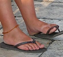Sunburnt Feet by Jenny Brice