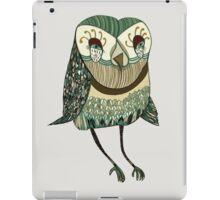 My Garden Owl iPad Case/Skin
