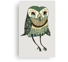 My Garden Owl Canvas Print