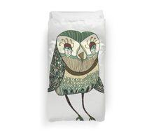 My Garden Owl Duvet Cover