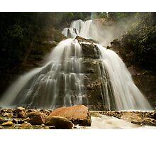 Bayoz Falls, Chanchamayo, La Mercez, Peru Photographic Print