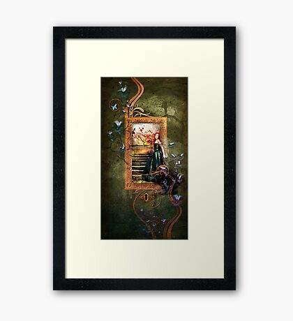 The Lost Heart Framed Print