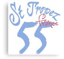 St. Tropez 55 France Canvas Print
