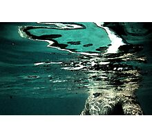 this is water    i am water Photographic Print
