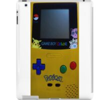 GameBoy Color Pokemon iPad Case/Skin