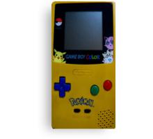 GameBoy Color Pokemon Canvas Print