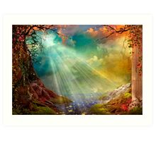 The Secret Grotto Art Print