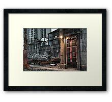 History's Door Framed Print
