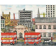 A City Scape Composition Photographic Print