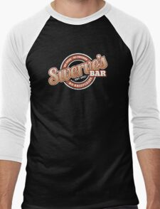 Swerve's Bar - Logo Men's Baseball ¾ T-Shirt