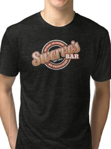 Swerve's Bar - Logo Tri-blend T-Shirt
