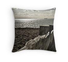 Essex Beach Throw Pillow