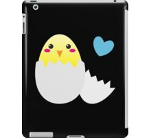 Cute Easter chick with love heart iPad Case/Skin