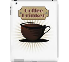Coffee Drinker iPad Case/Skin