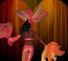Fan Dancer by Dan Perez