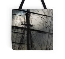 Cutty Sark Masts and Rigging Tote Bag