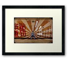 Beijing Life Framed Print