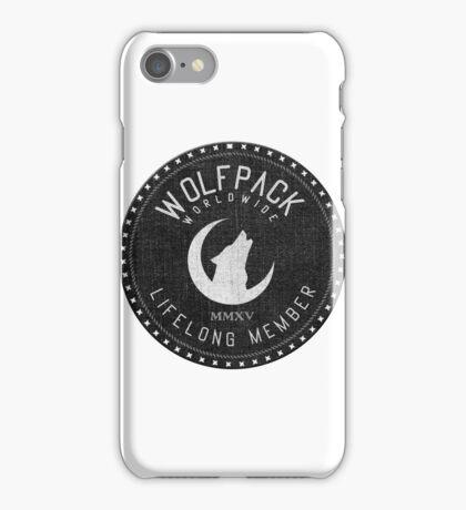 WOLFPACK Worldwide iPhone Case/Skin