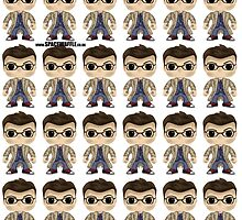 Dr Who -Tennant by SpaceWaffle