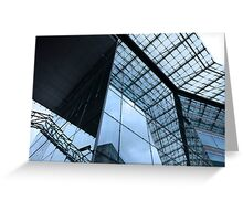 modern architecture Greeting Card