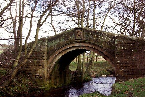 Pack Horse Bridge - Westerdale by Trevor Kersley