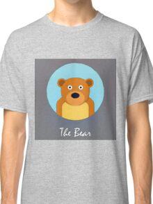 The Bear Cute Portrait Classic T-Shirt