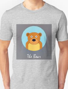 The Bear Cute Portrait T-Shirt