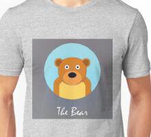 The Bear Cute Portrait Unisex T-Shirt