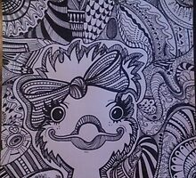 ostrich by TinaTerry2015