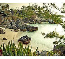 Willowbank Beach, Bermuda Photographic Print