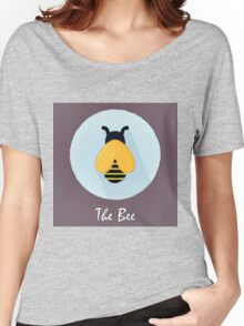 The Bee Cute Portrait Women's Relaxed Fit T-Shirt