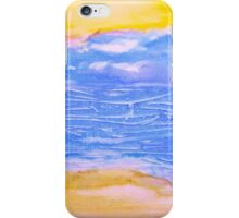 Atmospheric Layers with Beach iPhone Case/Skin