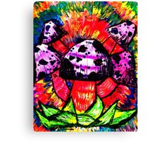 Shroomadelic Canvas Print