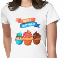 Birthday Womens Fitted T-Shirt