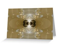 A Shimmer of Gold Greeting Card