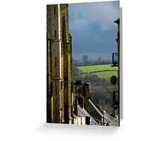 Coutances Landscape Greeting Card
