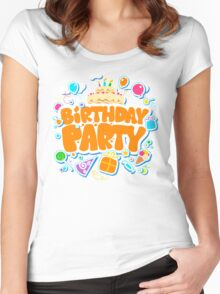 Happy Birthday Women's Fitted Scoop T-Shirt