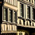 Strasbourg Three Houses by AmyRalston