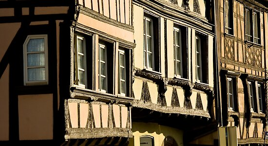 Strasbourg Three Houses by AmyRalston