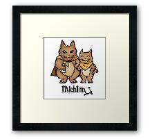 Michtim: Hamster-Like Heroes Hoodie Framed Print