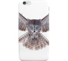 Great Grey Owl - Power iPhone Case/Skin