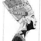 Queen Nefrtiti by Martulia