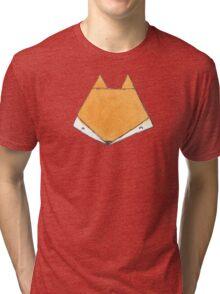 Fox Face Tri-blend T-Shirt