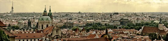 Prague Panorama by J O'Neal