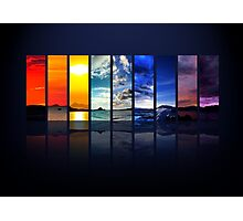 Spectrum of the Sky Photographic Print