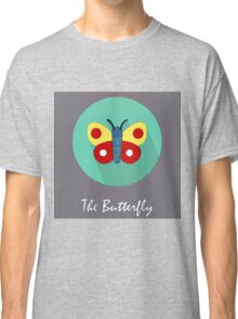 The Butterfly Cute Portrait Classic T-Shirt